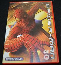 Spider-Man (DVD, 2002, 2-Disc Set)  (D0100)