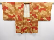 VINTAGE JAPANESE KIMONO, HAORI, JAPAN HISTORY, CRAFT MATERIAL, CLOTH, CLOTHING
