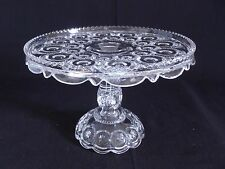 Antique EAPG Adams & Co MOON & STARS cake stand