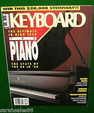 1988 KEITH EMERSON CONCERTO, Korg M1 KEYBOARD Magazine Review, Ciani Free Record
