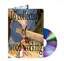 16 collections of wood working on CD PDF