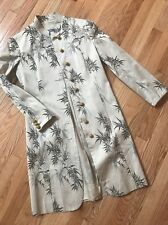 Moschino COUTURE M 8 oriental embroidered bamboo vintage jacket coat ~Pristine!