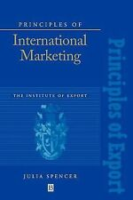 Institute of Export Ser.: Principles of International Marketing by Julia...