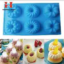 Silicone Muffin Pudding Cupcake Mould Bakeware Round Cake Pan Baking Tray Molds
