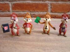 Ardillas Barcel 2011 squirrels promo figures good condition original MEXICO 2011