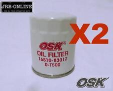OSAKA GENUINE PARTS Z172  Oil Filter SUZUKI GRAND VITARA  VITARA SIERRA