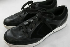 Mens Callaway 11.5 M Black Leather Golf Shoes