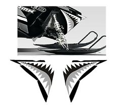 POLARIS jaws NOSE GRAPHIC RUSH PRO RMK  800 ASSAULT 120 155 163  DECAL teeth 1