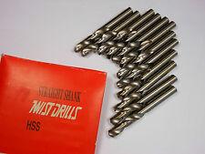 """TWIST Screw Machine Drill Bits 7.4mm 135° 1-9/16"""" x 2-3/4"""" HSS Qty 12 -5052E879"""