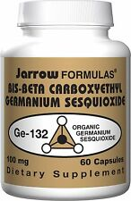 Jarrow Formulas Germanium Ge-132, 100 MG, 60 Capsules
