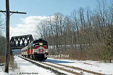 Original Photograph: Metro-North FL9 2014 at Towners, NY OB (5 x 7)