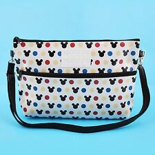 "Walt Disney Mickey Mouse Bag Baguette Purse Clutch Crossbody Shoulder Bag 7""x10"""