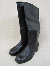 Soviet Army Officer's Thin Leather High Boots.1970s. Size 10  Mint