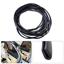 20ft Black Soft Flexible Rubber Weatherstrip Door Glass Run Channel Seal Belt
