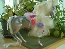 1987 Fashion Star Fillies CHLOE Silver Horse Pony w/ Accessories! Kenner