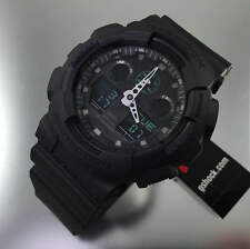 Casio G-Shock Analog Digital Black Military Watch GA100MB-1A