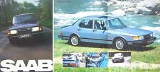 Saab 900 1981/82 Original UK Sales Brochure GL GLS GLi GLE & Turbo No. 211672