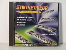 CD ALBUM Synthétisuer Vol 1 Antartica theme Grand bleu  SPACIAL MIXER 'S MARK011