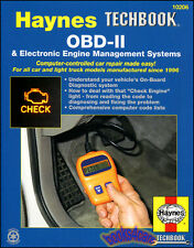 OBDII MANUAL OBD2 SHOP REPAIR SERVICE HAYNES BOOK
