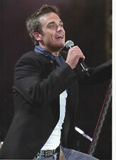 ROBBIE WILLIAMS PHOTO 2005 UNIQUE HUGE 12 INCH UNRELEASED EXCLUSIVE IMAGE A GEM