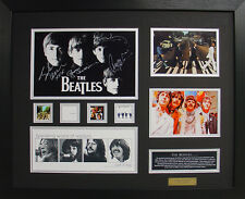 The Beatles Limited Edition Signed Framed Memorabilia