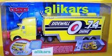 Hauler - SIDEWALL SHINE  - Truck #13 Disney Cars Racing Team 74 Transporter auto
