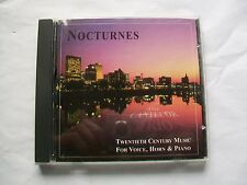 Nocturnes: 20th Cent. Music for Voice/Horn/Piano by The Cantecor Trio (CD, 1999)