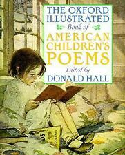 The Oxford Illustrated Book of American Children's Poems-ExLibrary