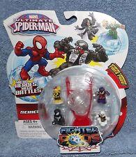 MARVEL ULTIMATE SPIDER-MAN SERIES 1 FIGHTER PODS 4 PACK SET #7