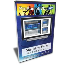 Presonus StudioLive Series Tutorial (24.4.2, 16.4.2 & 16.0.2) 2 Hour DVD