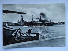 NAVE CAMPIDOGLIO Adriatica navigazione Venezia lloyd ship vecchia cartolina *