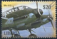 Luftwaffe MESSERSCHMITT Me-410 Me410 HORNISSE / HORNET Aircraft Stamp (Liberia)