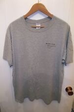 United Airlines Mileage Plus Vintage Tulip Logo San Francisco Grunge T Shirt XLg