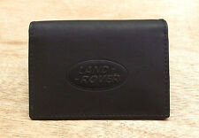Land Rover logo Black Leather credit card size, driving licence holder vs933