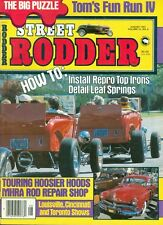 1981 Street Rodder Magazine: How to Install Repro Top Irons Detail Leaf Springs