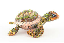 Turtle Jewelry Trinket Box Decoration Collectible Animal Sea Gift 02116