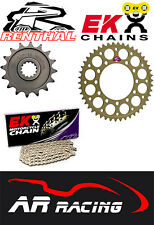 Renthal Sprocket / EK Chain Kit ( 520 Race Pitch ) for Yamaha YZF R1 2015-2016