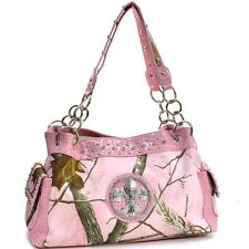 New Realtree Women Chain Camouflage Leather Handbag Hobo Shoulder Bag Purse