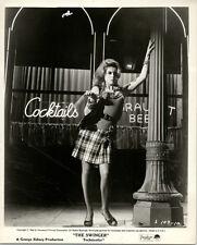 ANN-MARGRET pose in fishnet stockings by bar THE SWINGER ORIGINAL 8x10 photo '66