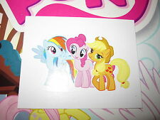 MY LITTLE PONY MON PETIT PONEY TOPPS 2014 IMAGE STICKER AUTOCOLLANT N° O RARE