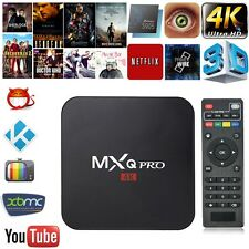 Smart TV Box 4K Ultra HD S905 64Bit 2.0GHz Quad Core Android 5.1 KODI XBMC 1G+8G