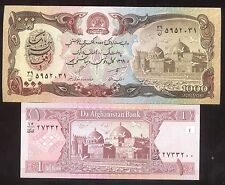 Rare Old AFGHANISTAN Note Desert Storm Taliban Army Currency Banknote Money Lot