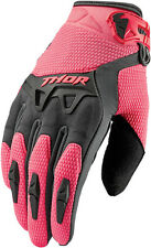 Thor MX Motorcycle Gear - S6 Women s Spectrum Gloves, Pink Lg - (3331-0113)