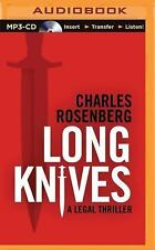 Long Knives by Charles Rosenberg (2015, MP3 CD, Unabridged)