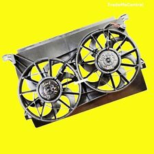 Ford BA BF Falcon Fairmont Fairlane Radiator Twin Thermo Cooling Fans Assembly