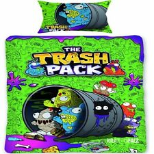 The Trash Pack Single Panel Duvet Cover Bed Set New Gift Trashies