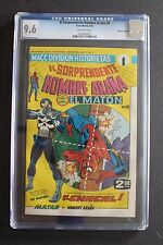 EL Hombre Arana #9 Mexican Amazing Spider-Man #129 1st PUNISHER 1974 CGC NM+ 9.6