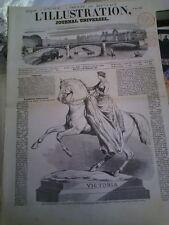 L'illustration n°427 3 mai 1851 expo universelle colonie de zurich jubilé toulon