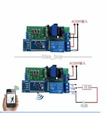 Wireless Bluetooth Relay Module Android phone Remote Control Smart Switch APP