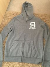 ABERCROMBIE AND FITCH  GREY HOODY New Without Tags - Size XL (15-16)